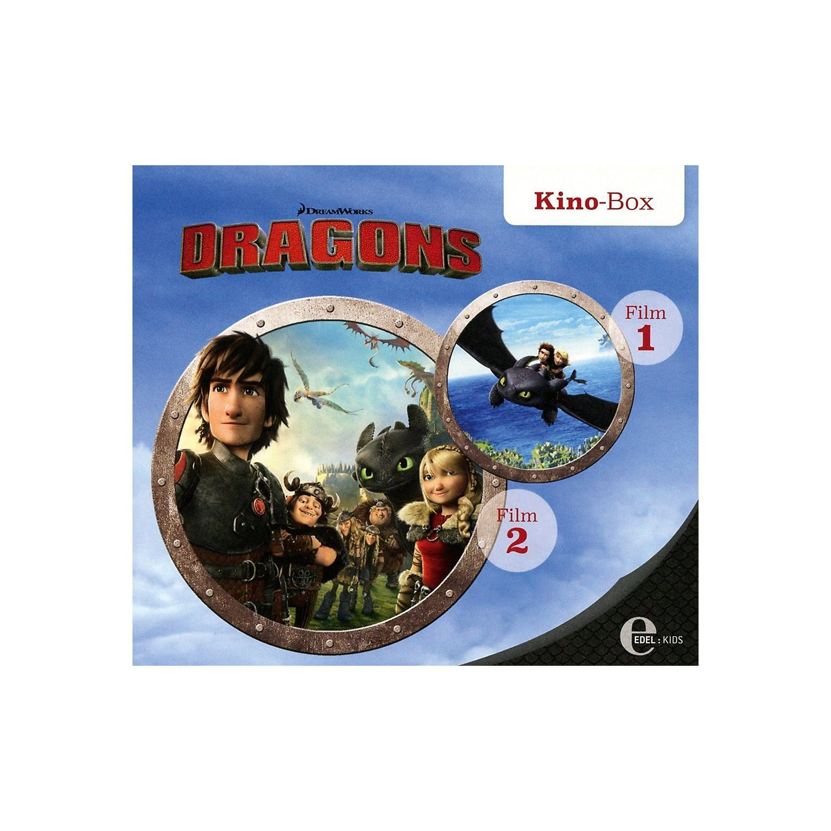 Edel CD Drachenzähmen leicht gemacht 1 - Kino-Box