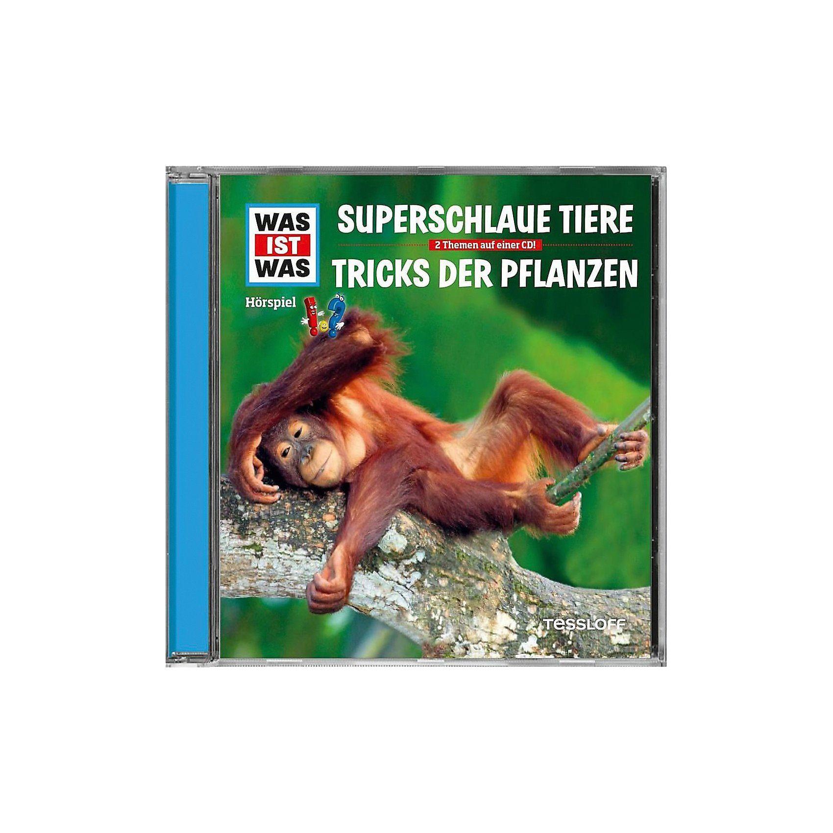 Universal CD Was ist Was 61 - Superschlaue Tiere / Tricks der Pflanzen