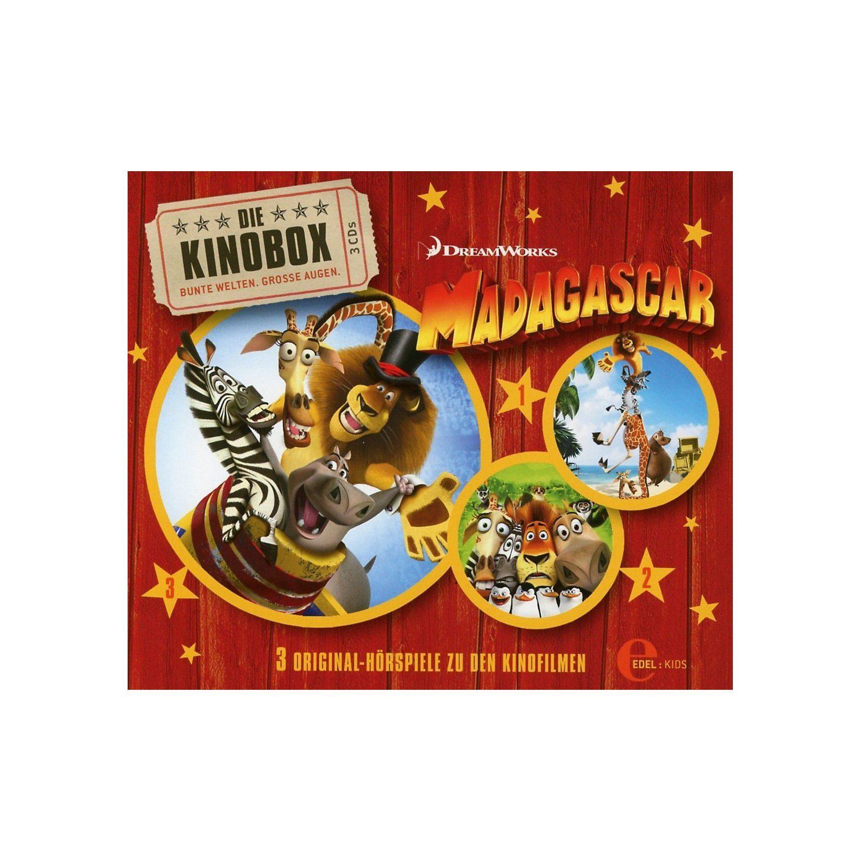 Edel CD Madagascar-Fan-Edition (Hörspiele z.Kinofilm 1-3)