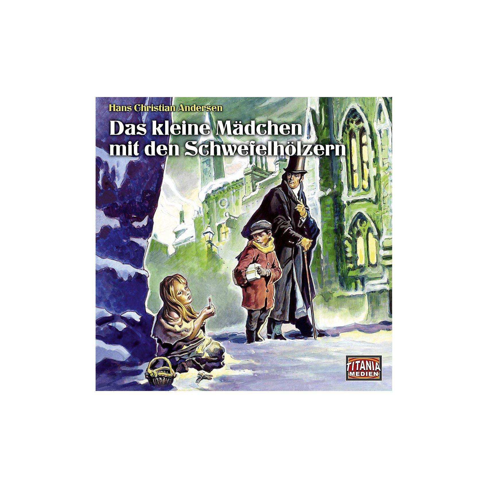 CD Das kleine Mädchen mit den Schwefelhölzern (Hans Christia