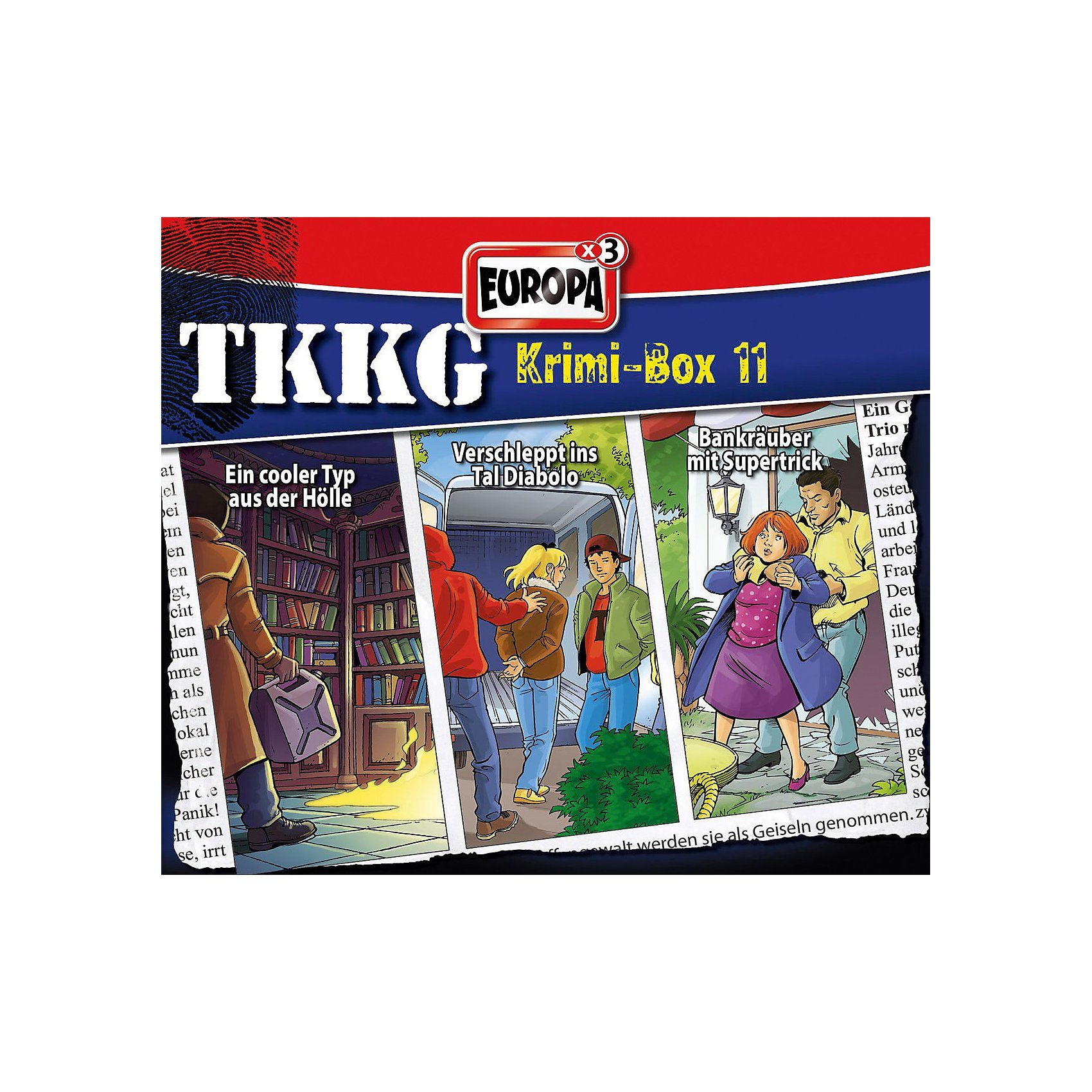 Sony CD TKKG - Krimi-Box 11