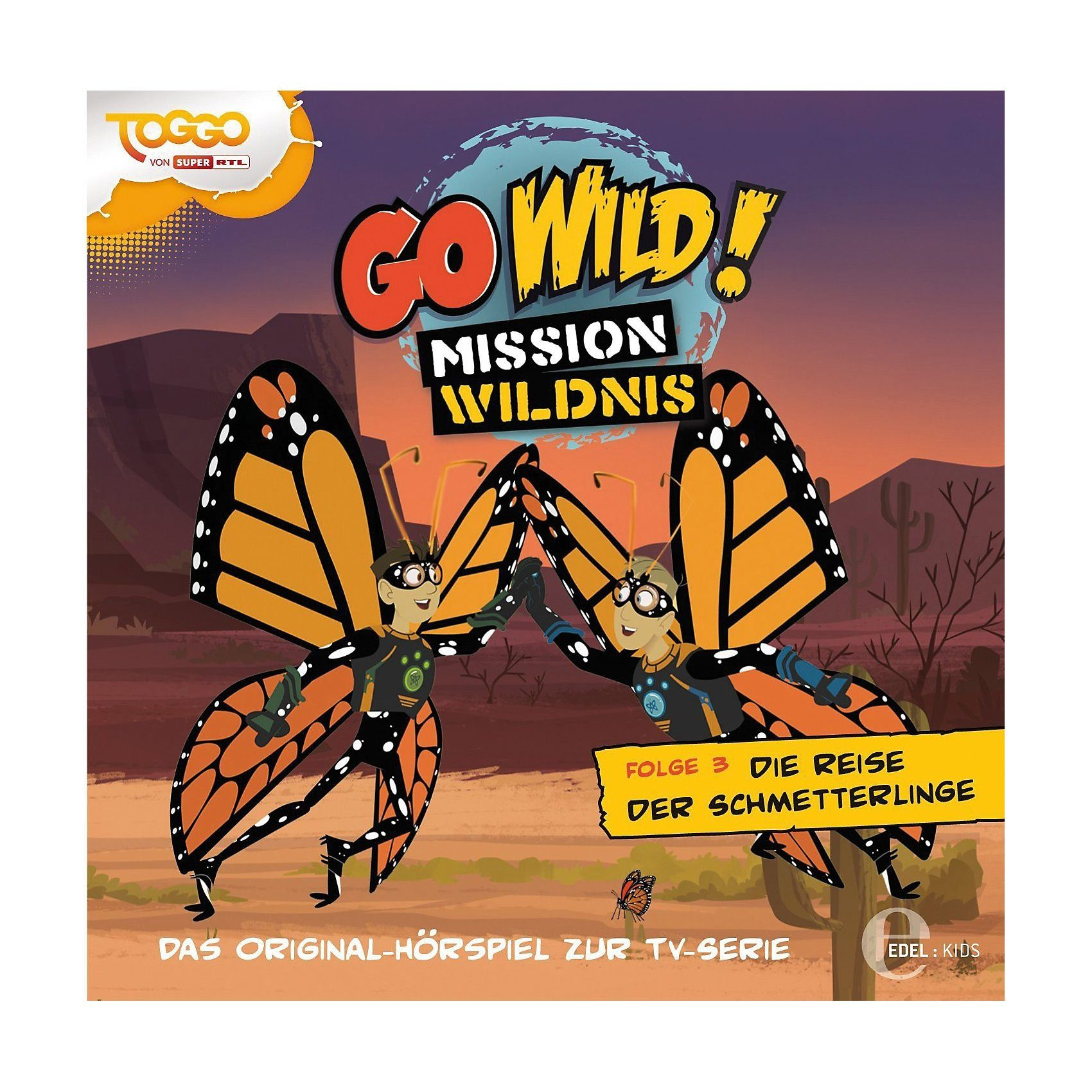 Edel CD Go Wild! Mission Wildnis 03 - Die Reise der Schmetterling