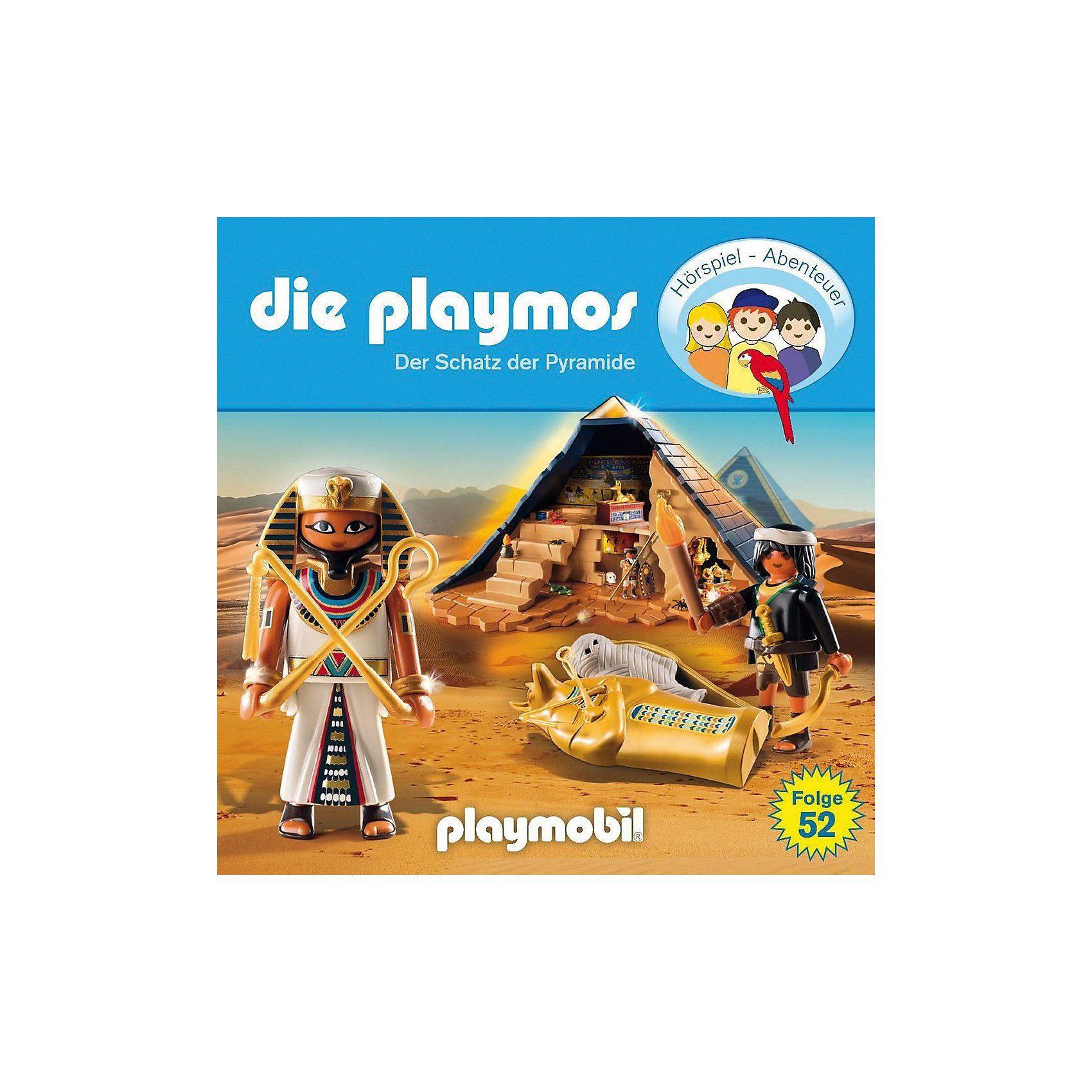 Edel CD Die Playmos 52 - Der Schatz Der Pyramide