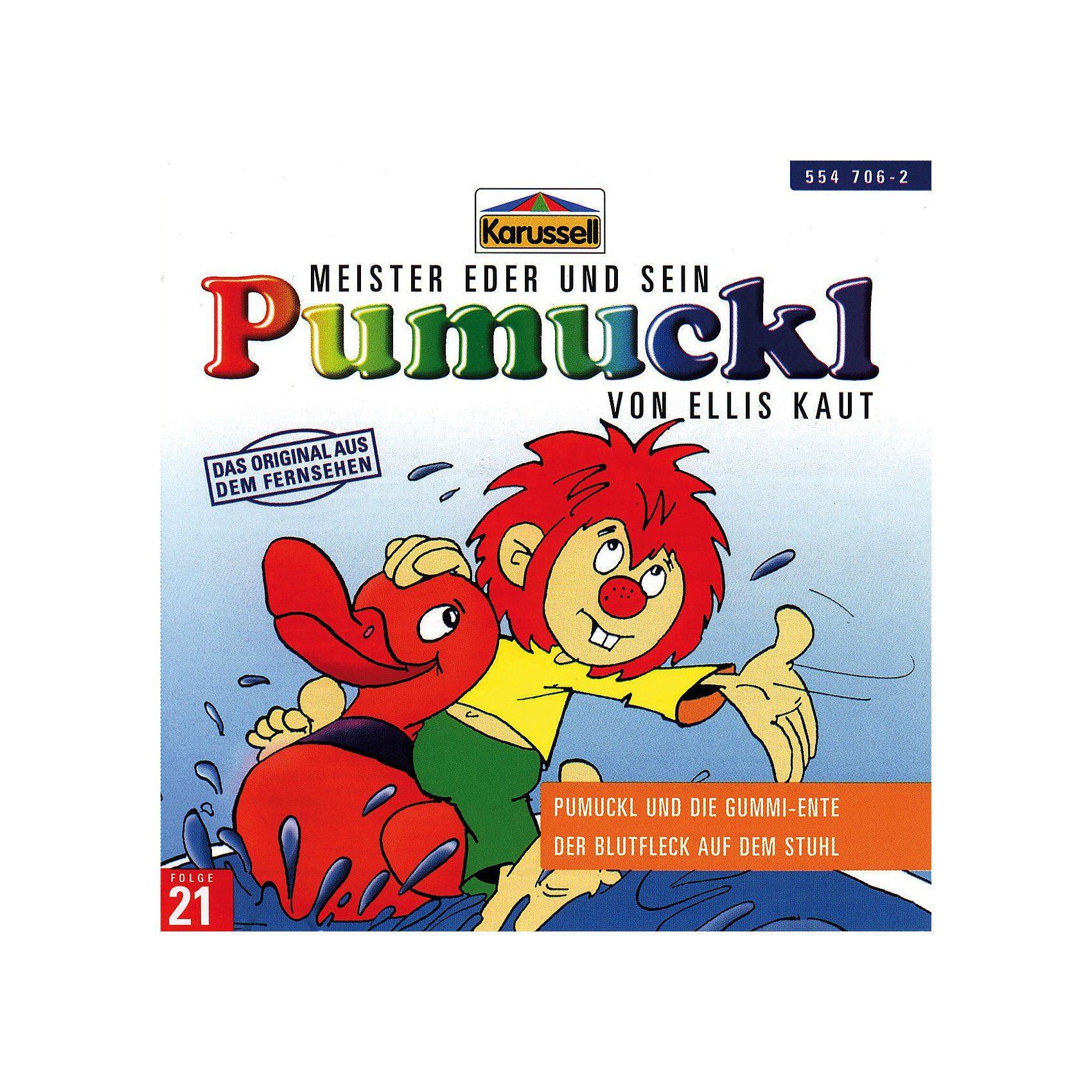 Universal CD Pumuckl 21 - Pumuckl und die Gummi-Ente/ Der Blutfleck