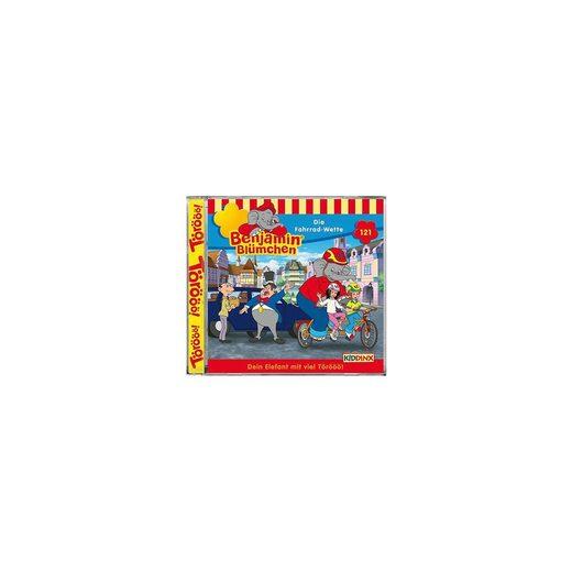 Kiddinx CD Benjamin Blümchen 121 - Die Fahrrad Wette