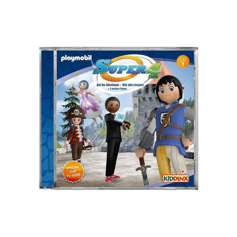 Kiddinx CD Super 4 - Folge Folge Folge 1 online kaufen 4bf724
