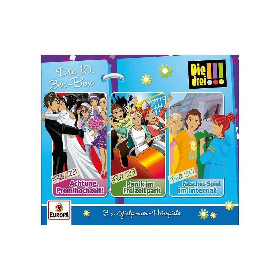 Sony CD Die drei !!! Die 10. 3er-Box (Folgen 28-30) online kaufen