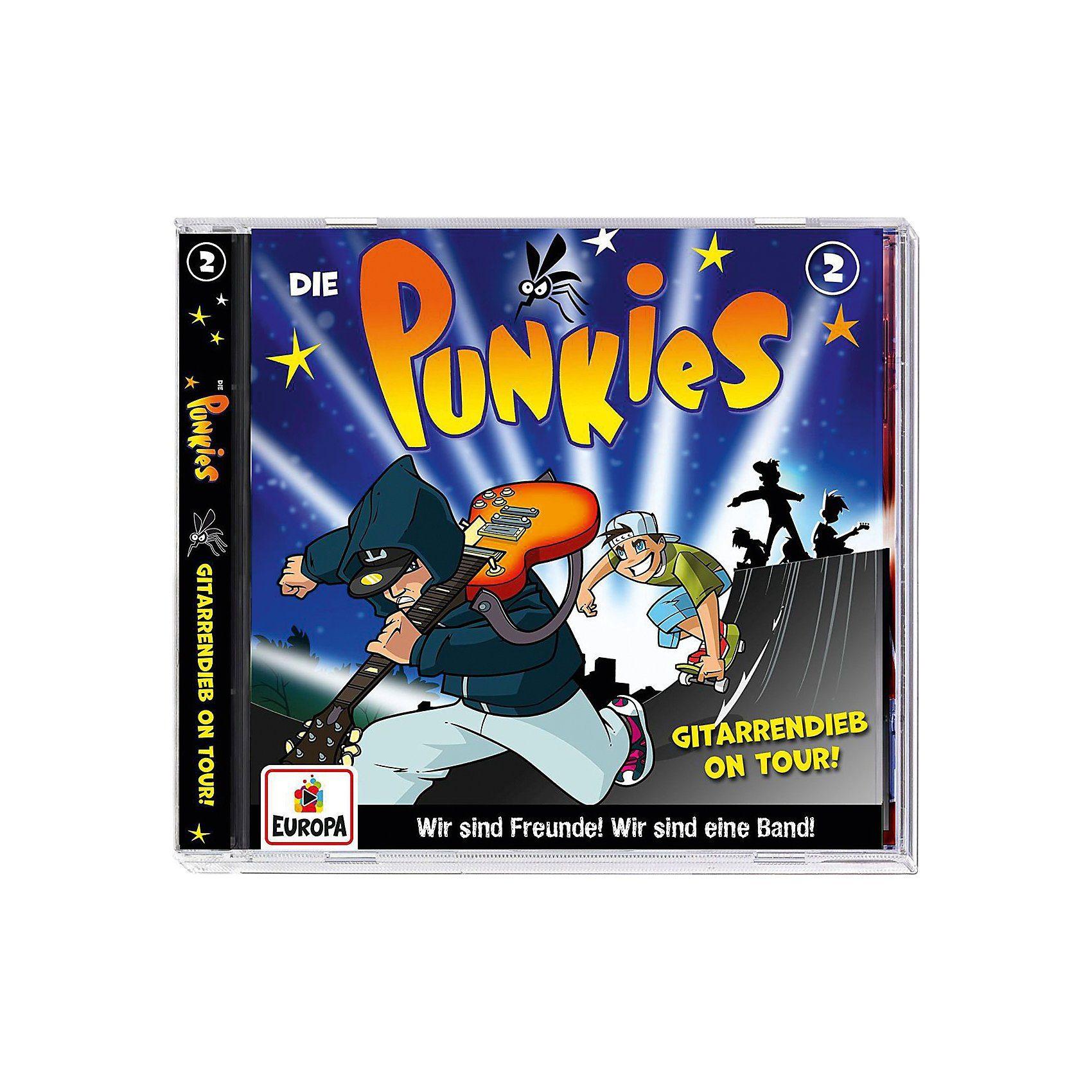 Sony CD Die Punkies 02 - Gitarrendieb on tour!