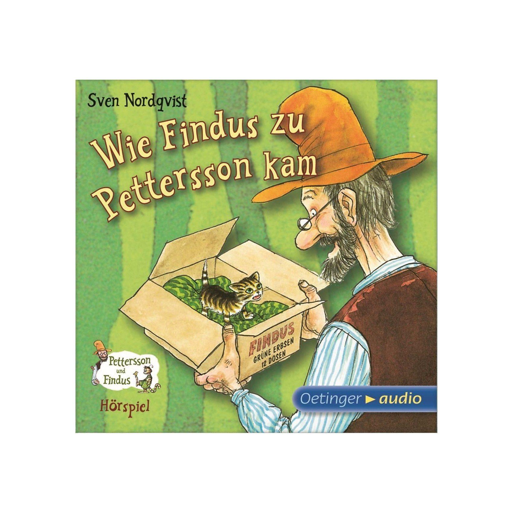 Wie Findus zu Pettersson kam, Audio-CD