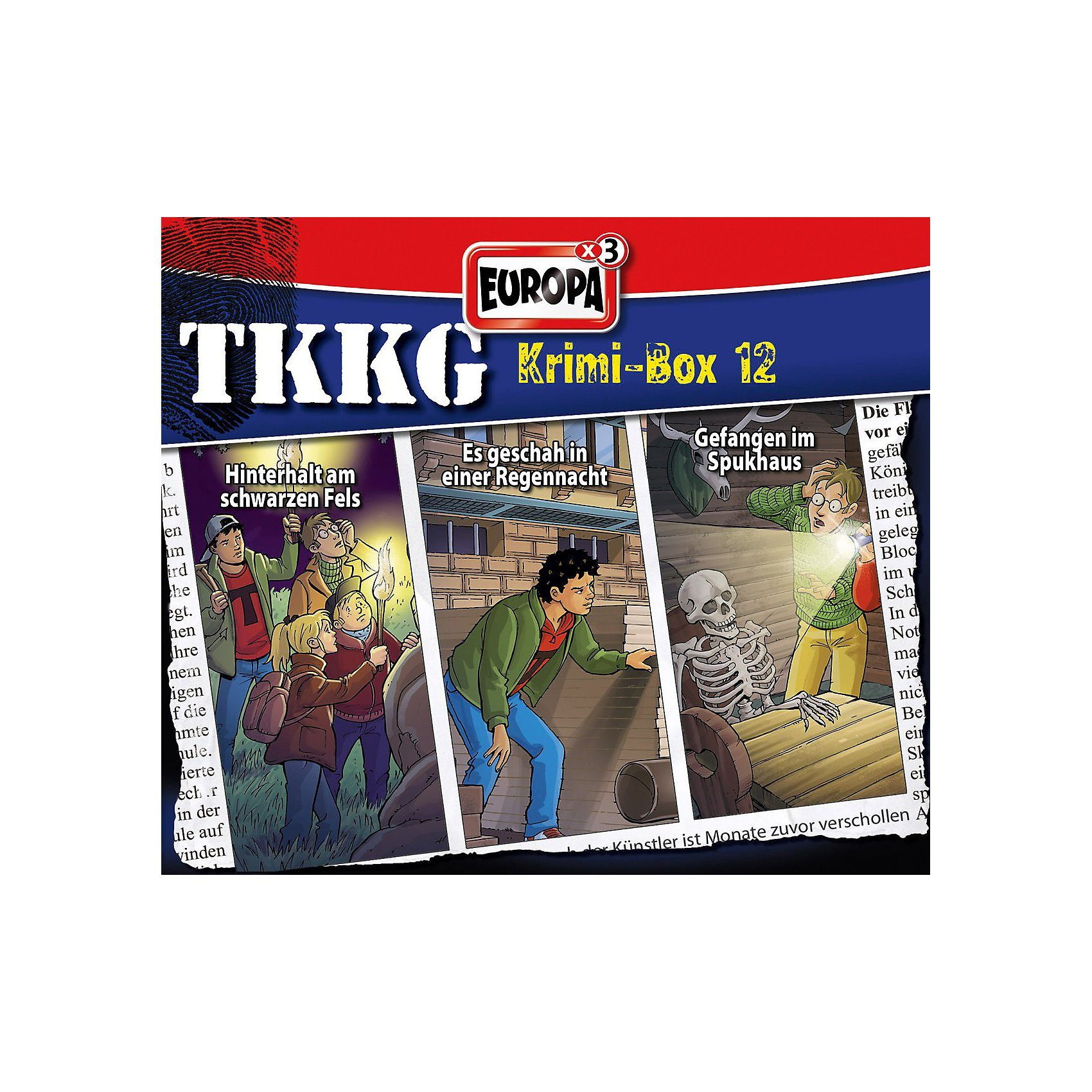 Sony CD TKKG - Krimi-Box 12