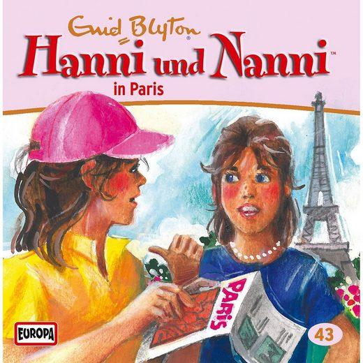 Sony CD Hanni & Nanni 43 - In Paris