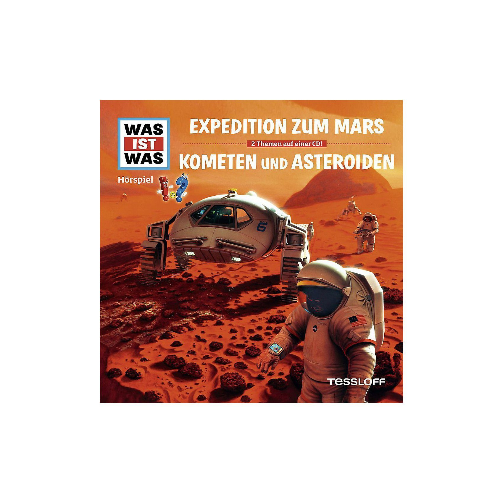 Universal CD Was Ist Was-Folge 58: Expedition Z.Mars/Kometen &