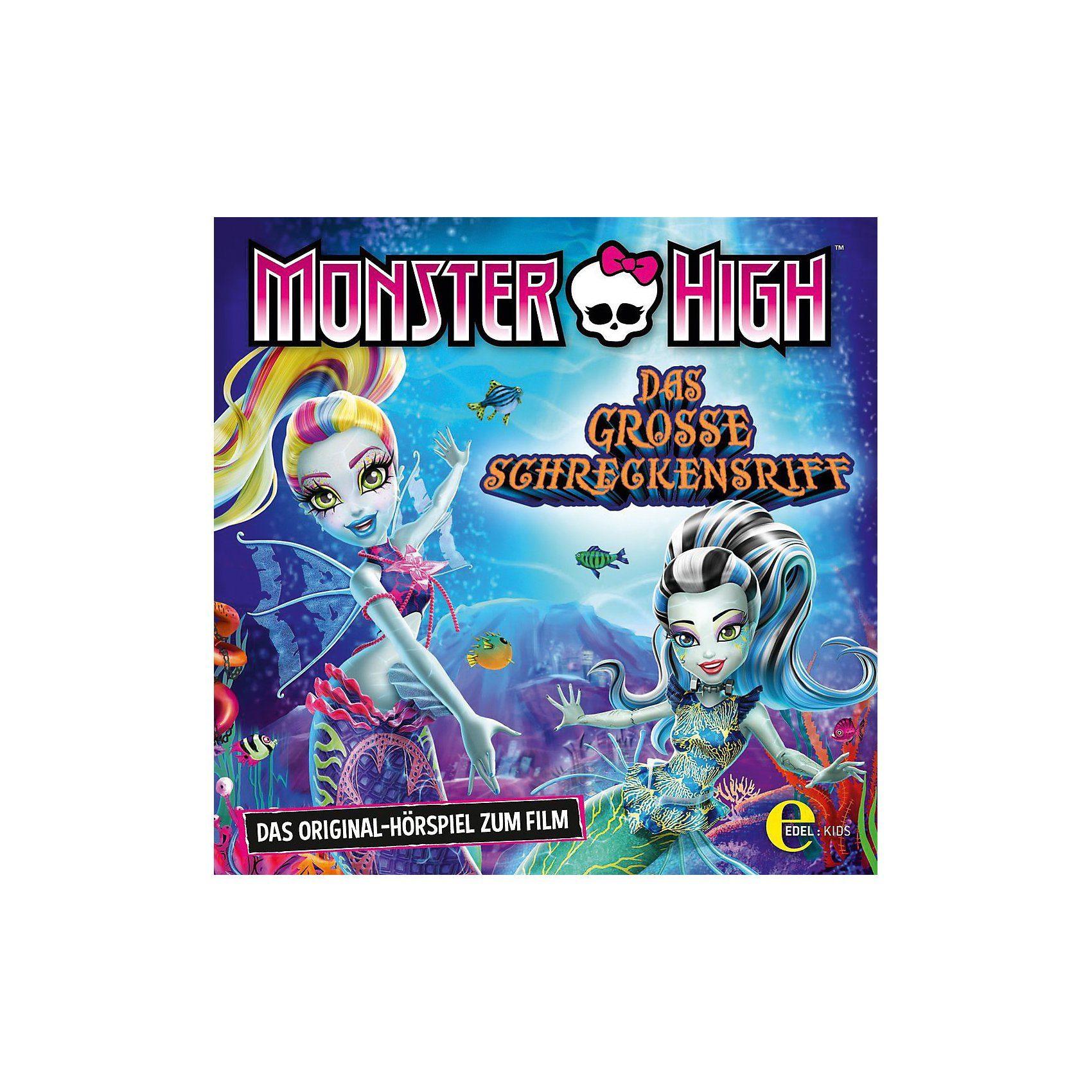 Edel CD Monster High - Das Große Schreckensriff