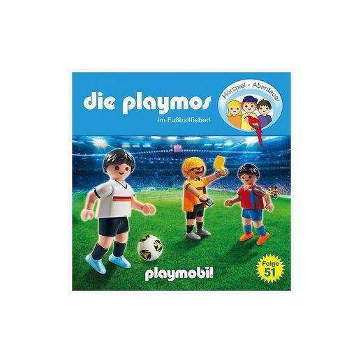Edel CD Die Playmos 51 - Im Fußballfieber