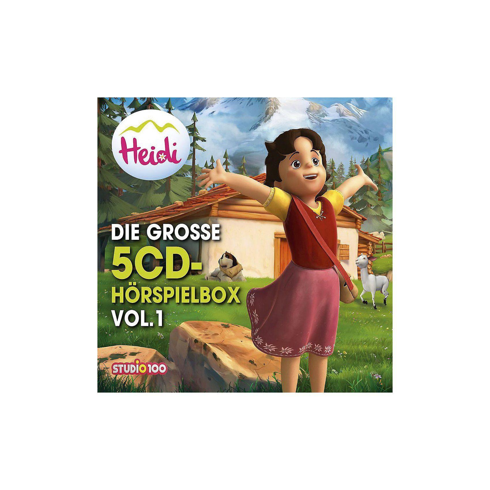 Universal CD Heidi - Die Große 5-CD Hörspielbox Vol.1