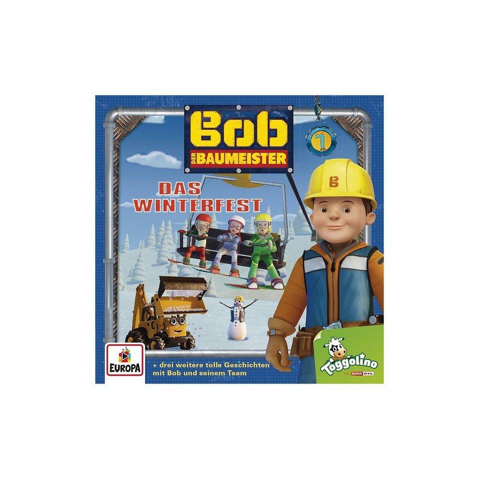Sony CD Bob der Baumeister 7 - Das Winterfest