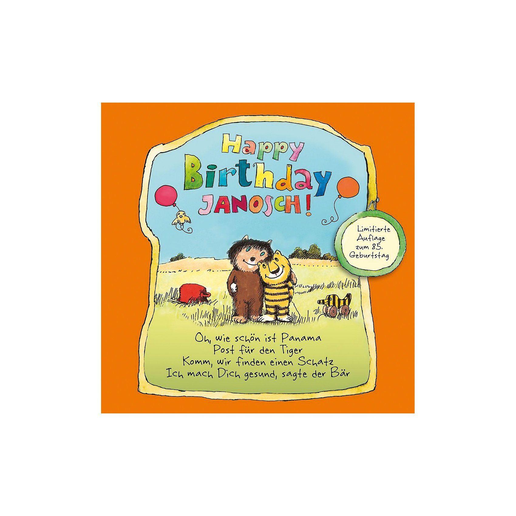Edel CD Janosch - Happy Birthday Janosch (Limitiert)