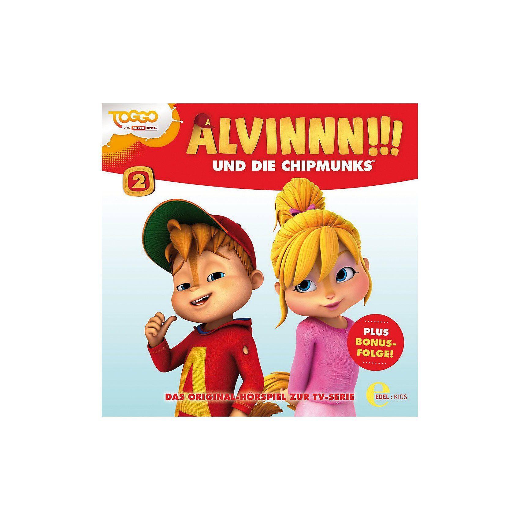 Edel CD Alvinn!!! und die Chipmunks Vol. 2