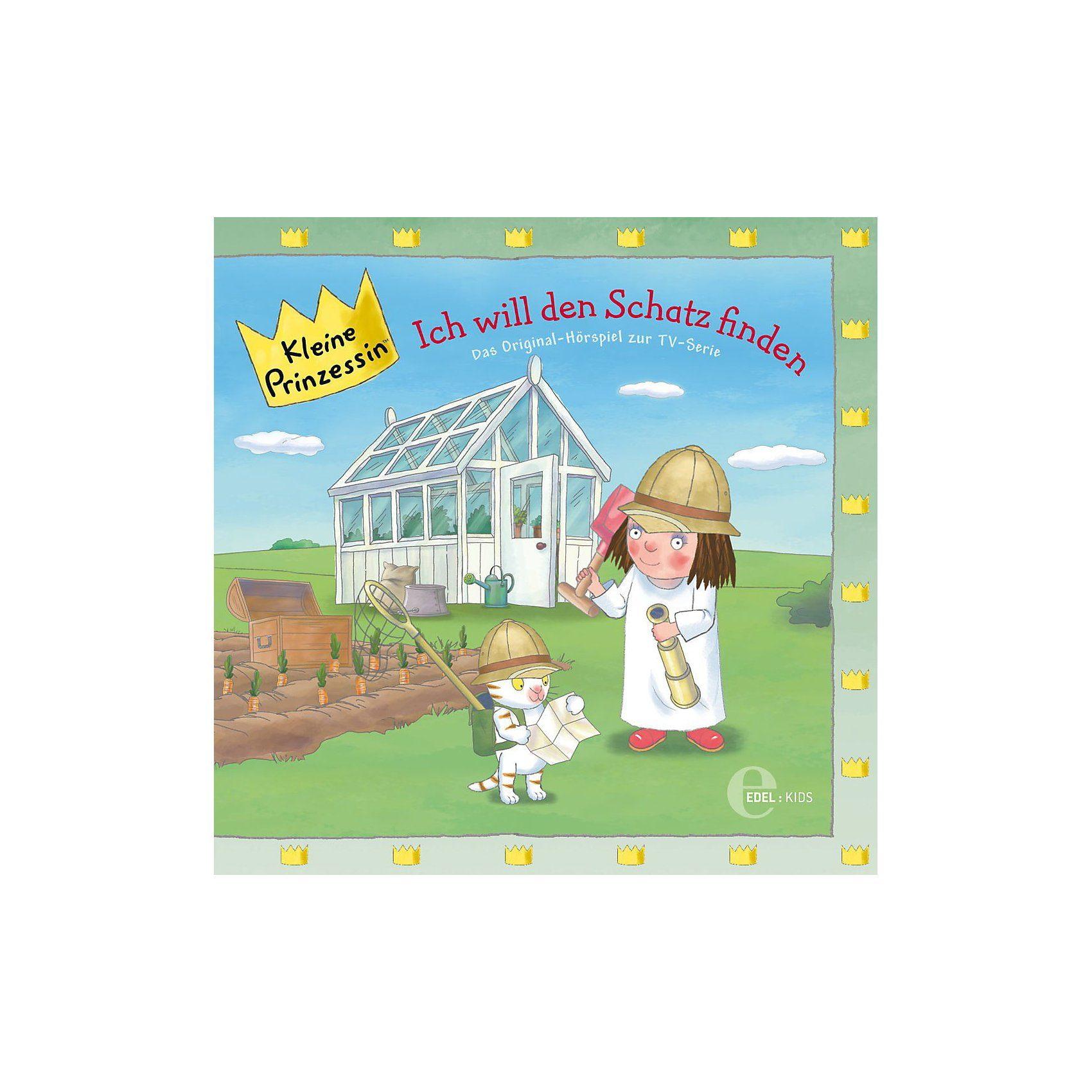 Edel CD Kleine Prinzessin 14 - Ich will den Schatz finden