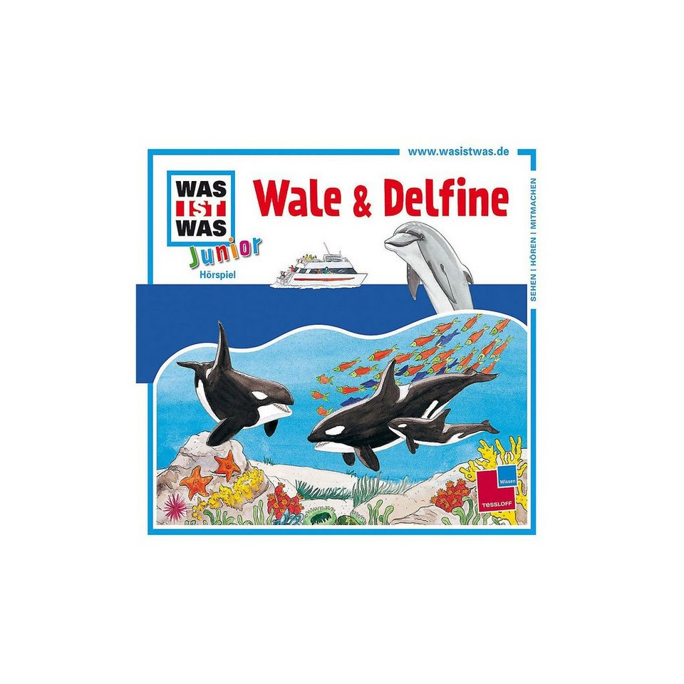 Universal CD Was ist Was Junior 22 - Wale & Delfine online kaufen
