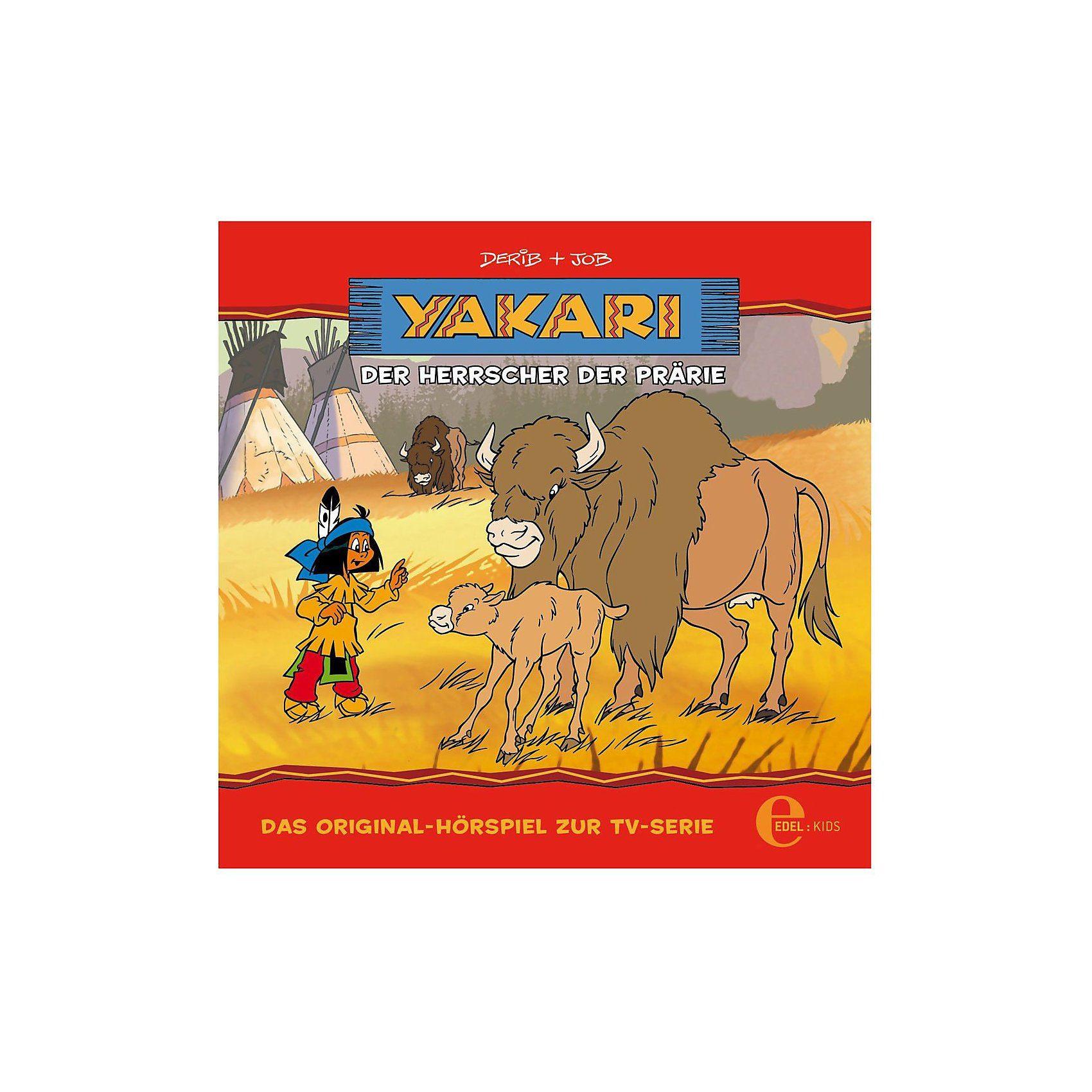 Edel CD Yakari 12 - Der Herrscher der Prärie - Yaka