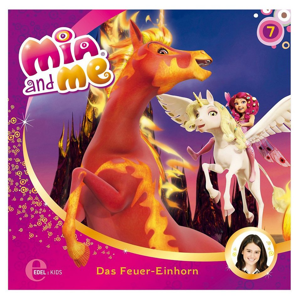 Edel CD Mia and Me 7 - Das Feuer-Einhorn kaufen