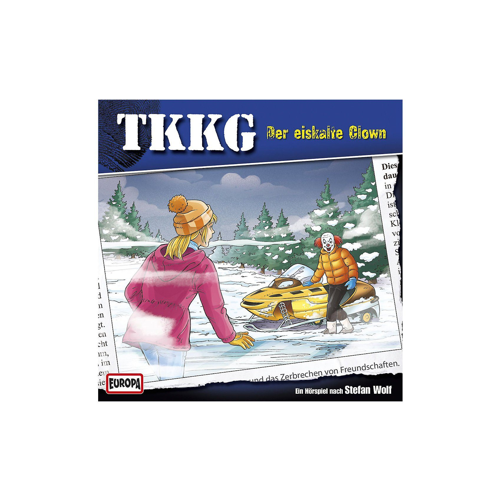 Sony CD Tkkg 190 - Der eiskalte Clown