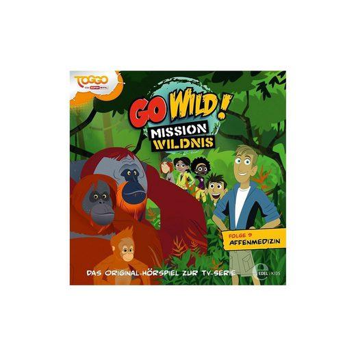 Edel CD Go Wild 09 - Die Affenmedizin CD