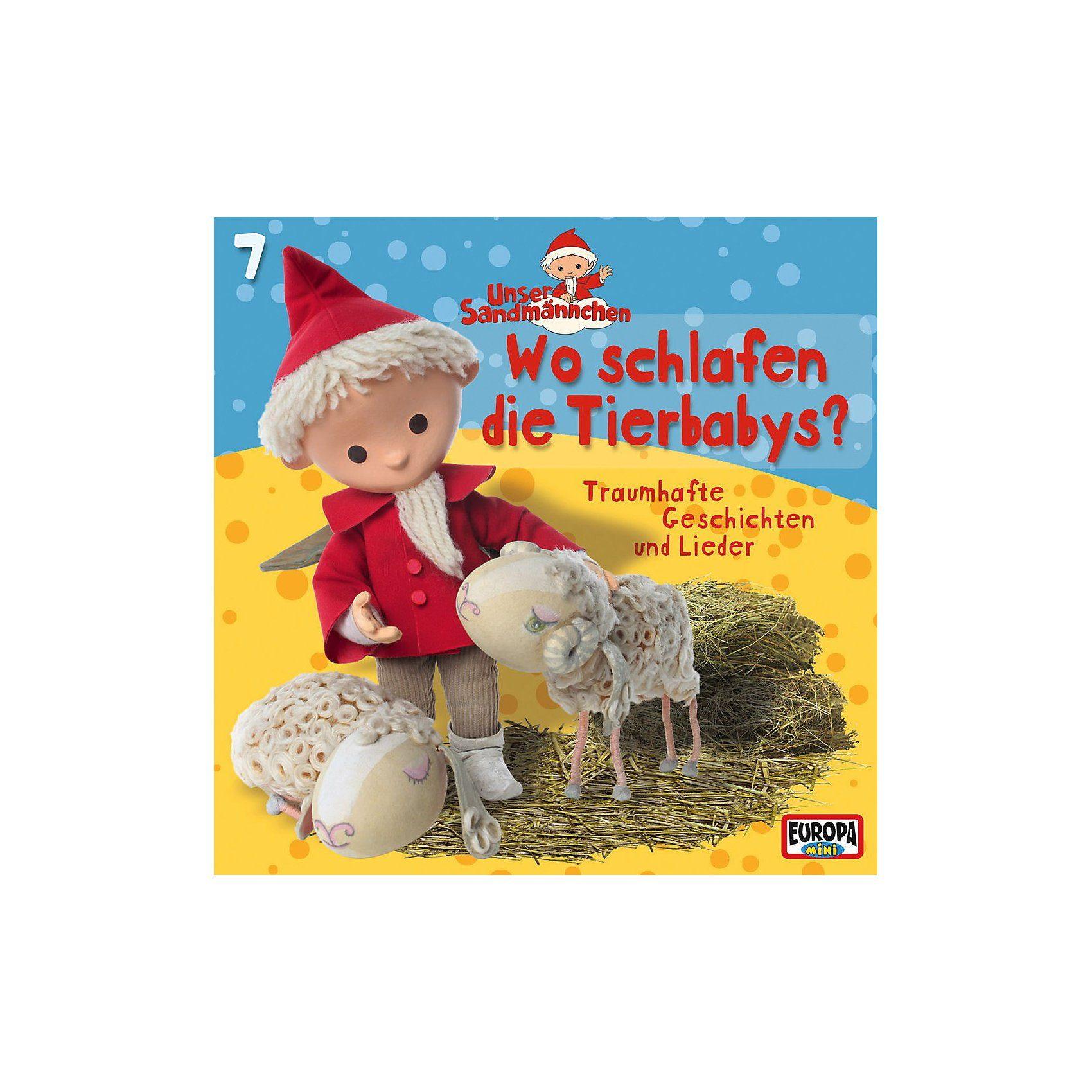 Sony CD Unser Sandmännchen 07 - Wo schlafen die Tierbabys?