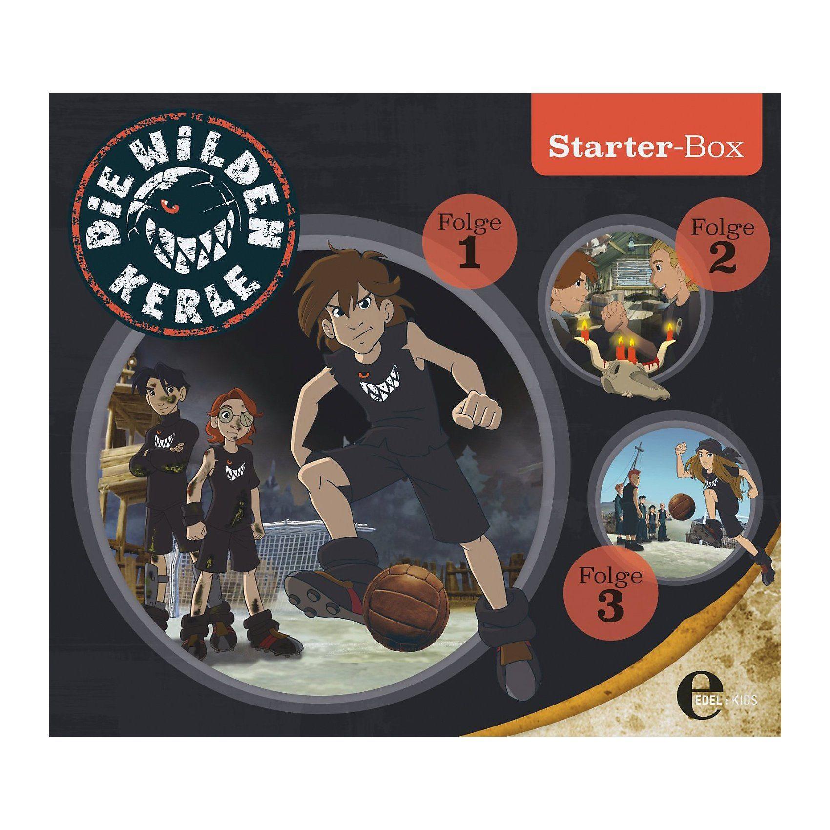 Edel CD Die wilden Kerle - Starter Box (Folgen 1,2,3)