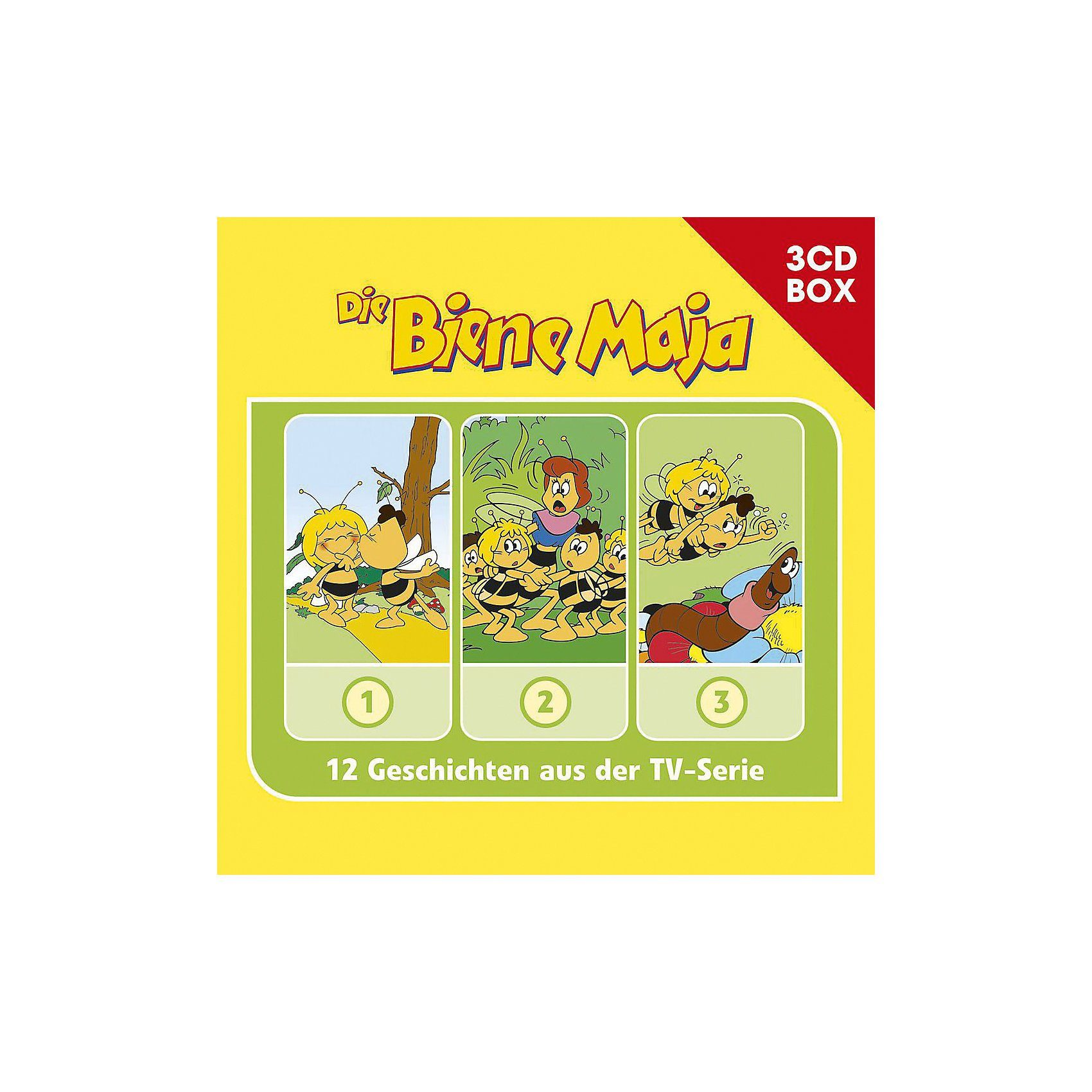 Universal CD Die Biene Maja - 3er Box 01 (Folgen 1,2,3)