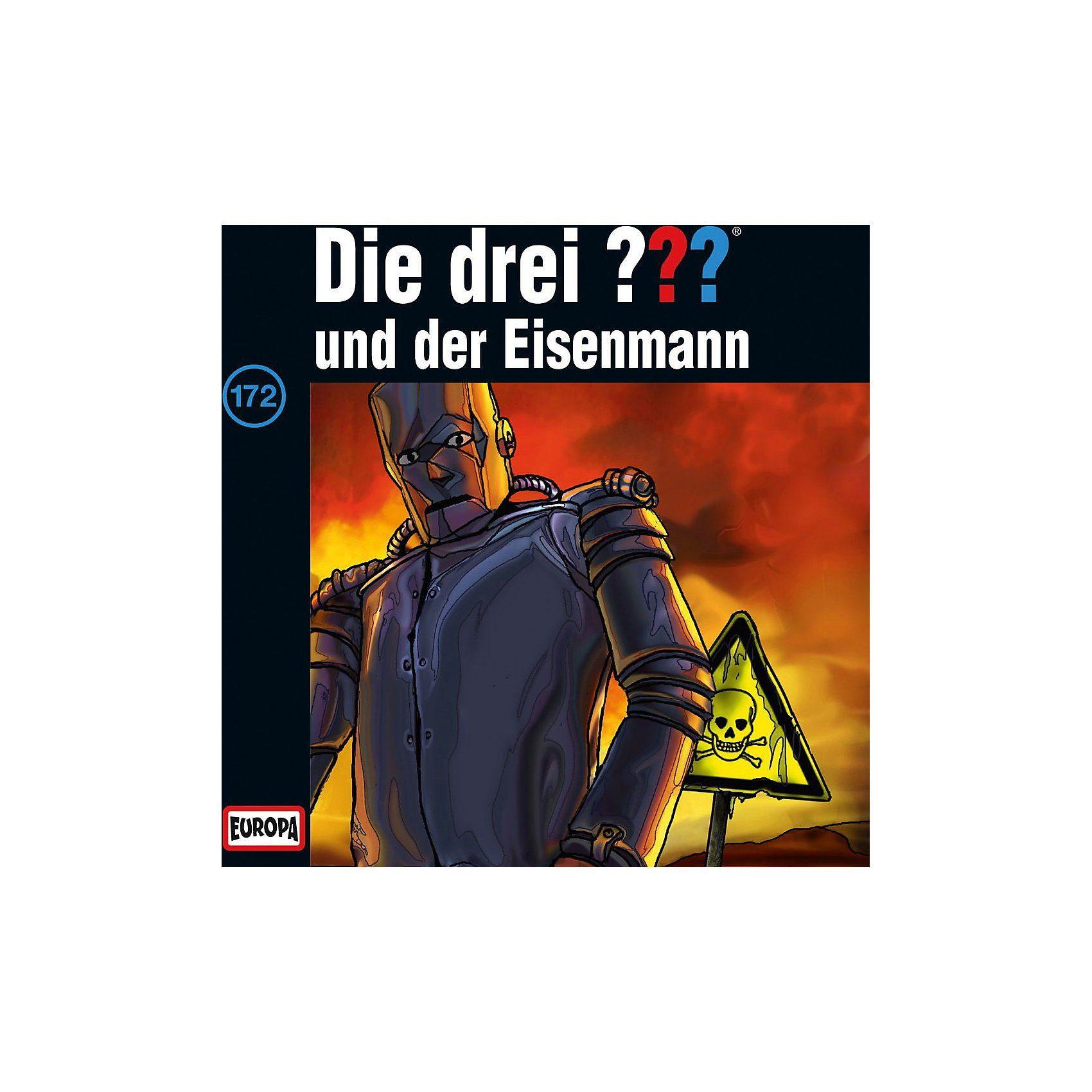 Sony CD Die Drei ??? 172 - und der Eisenmann