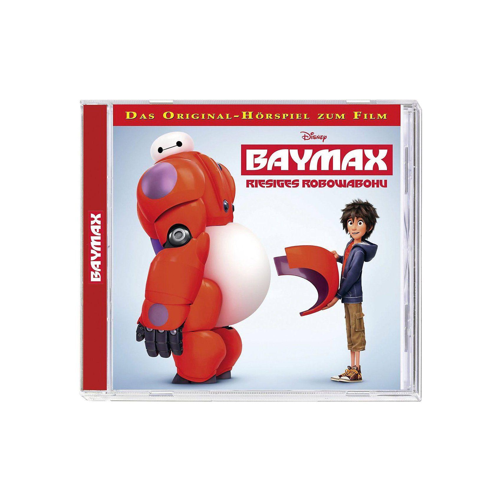 Kiddinx CD Disney Baymax - Riesiges Robowabohu (Hörspiel zum Film)