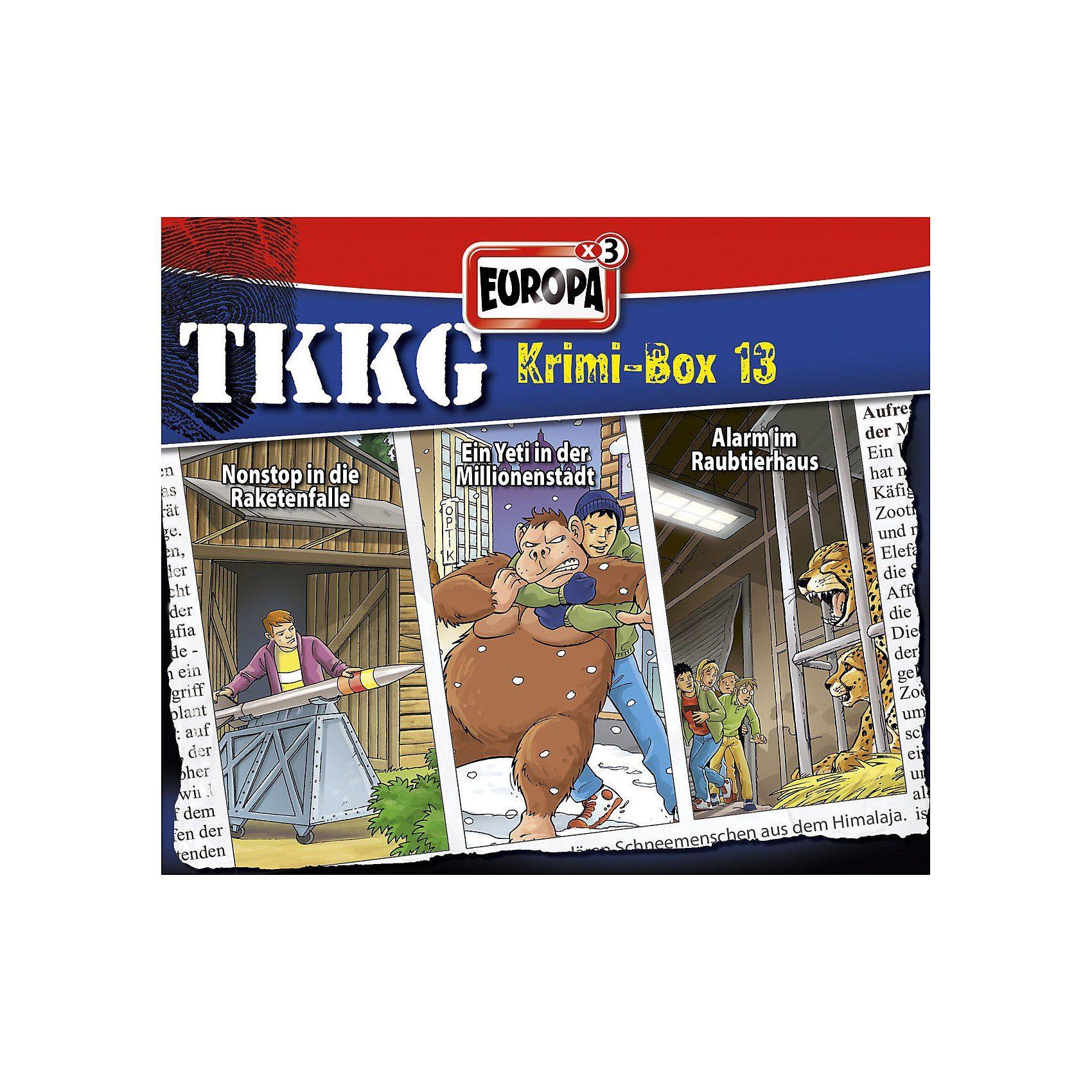 Sony CD Tkkg - Krimi Box 13