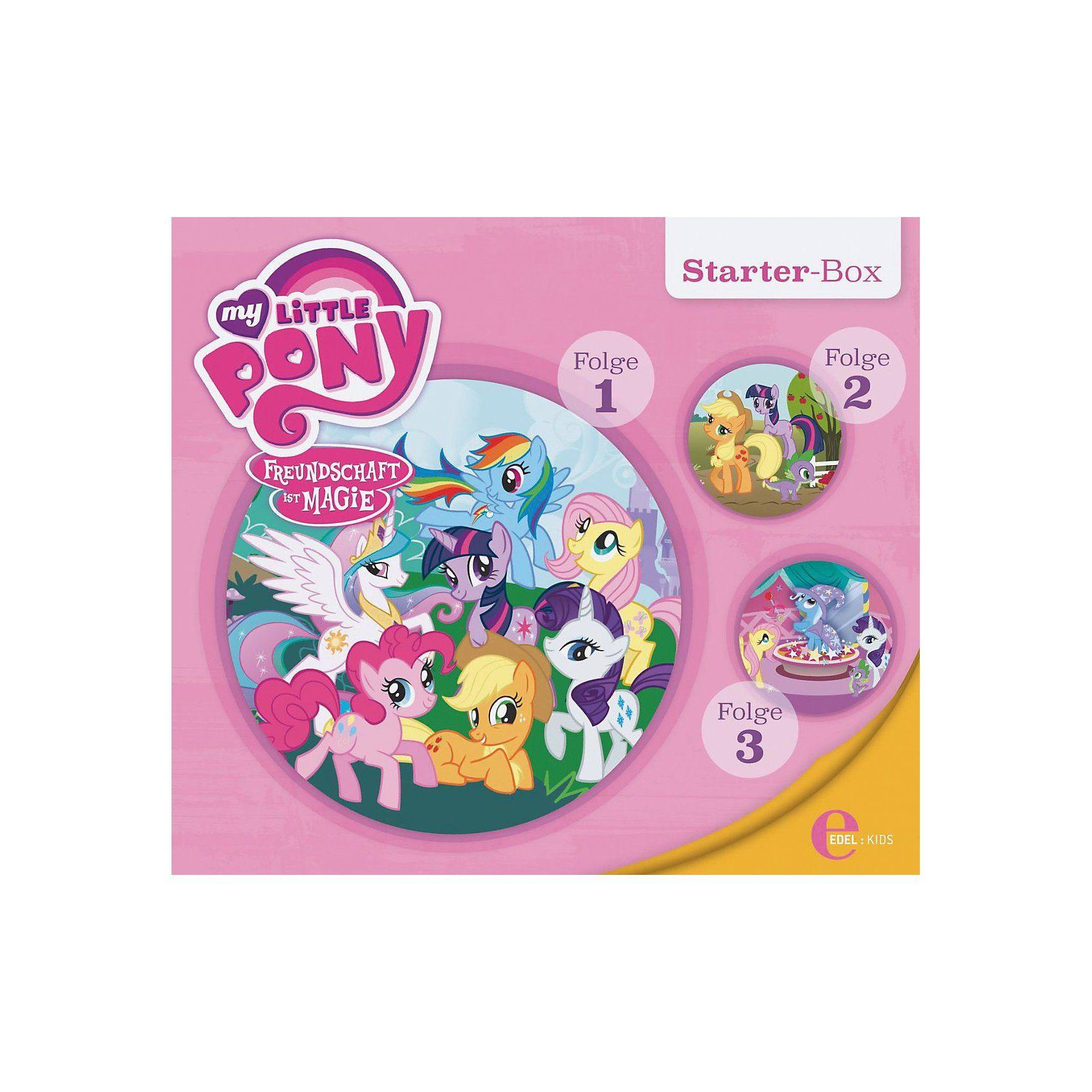Edel CD My little Pony - Starter Box (Folgen 1,2,3)
