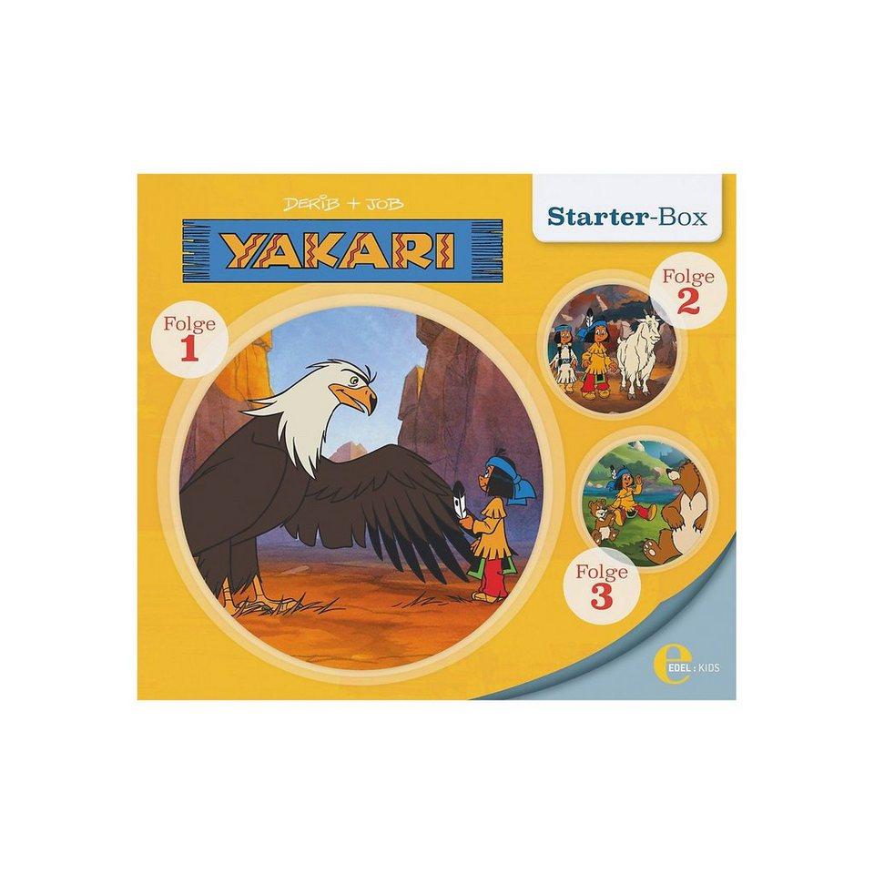 Edel CD kaufen Yakari - Starter Box (Folgen 1,2,3) kaufen CD fcc918