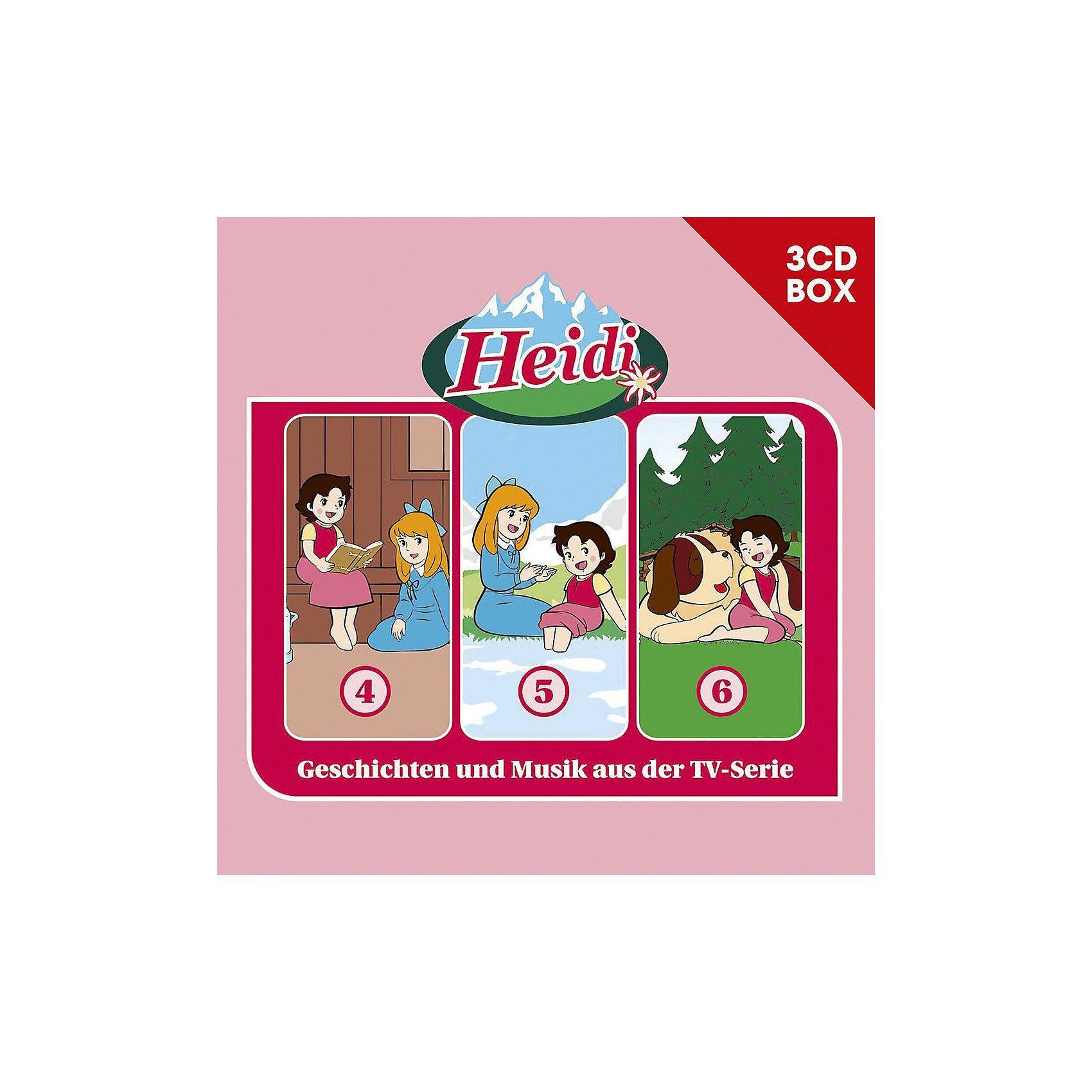 Universal CD Heidi - 3er Box 02 (Folgen 4,5,6)