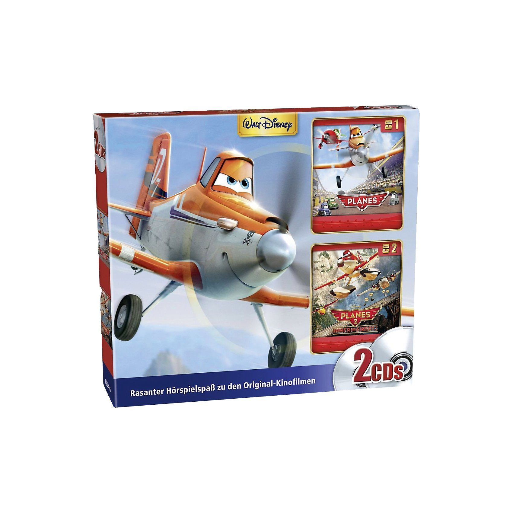 Kiddinx CD Disney Planes 1 & 2