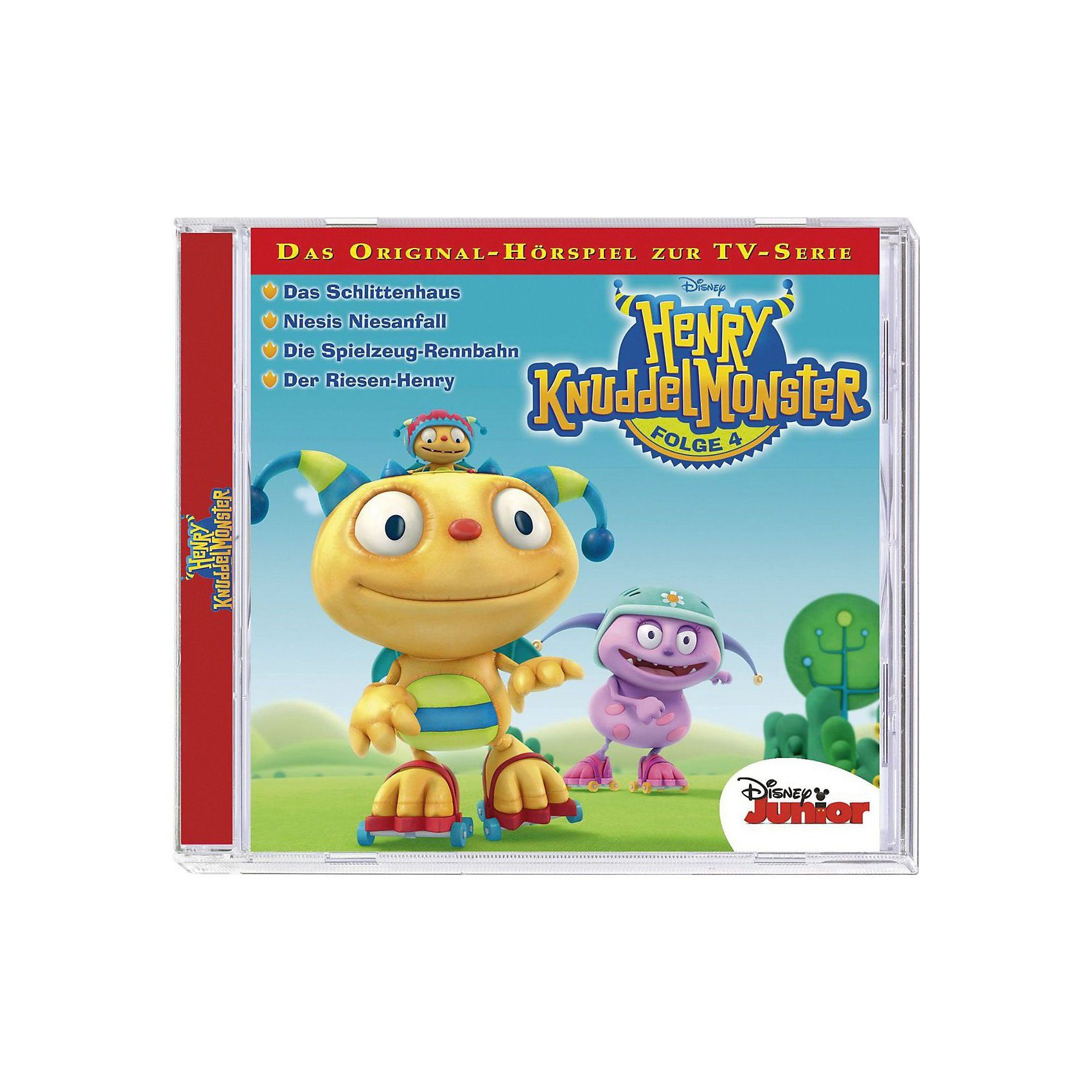 Kiddinx CD Disney Henry Knuddelmonster 04