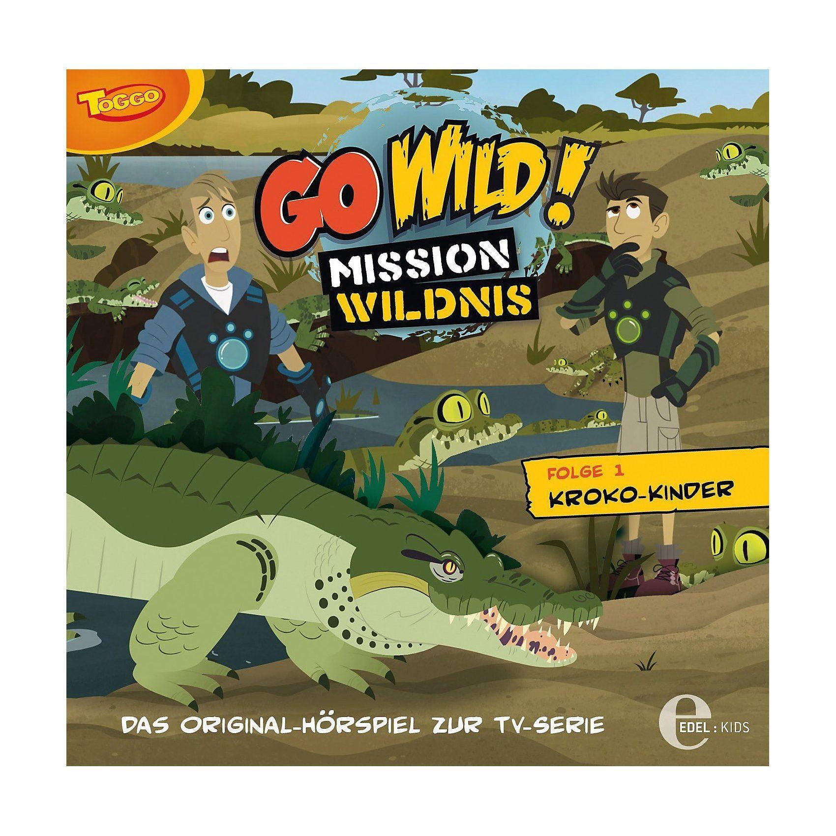Edel CD Go Wild 01 - Kroko Kinder