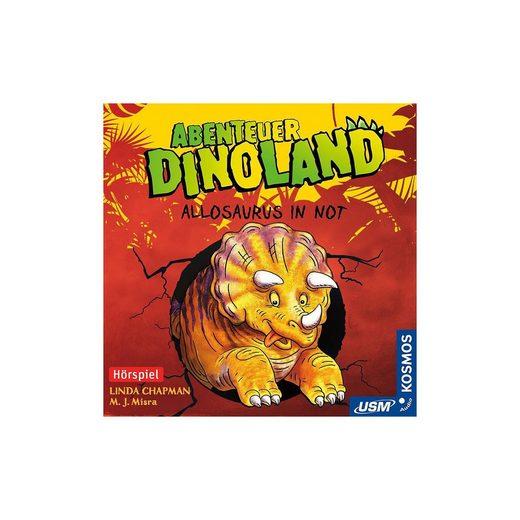 CD Abenteuer Dinoland 1: Allosaurus in Not