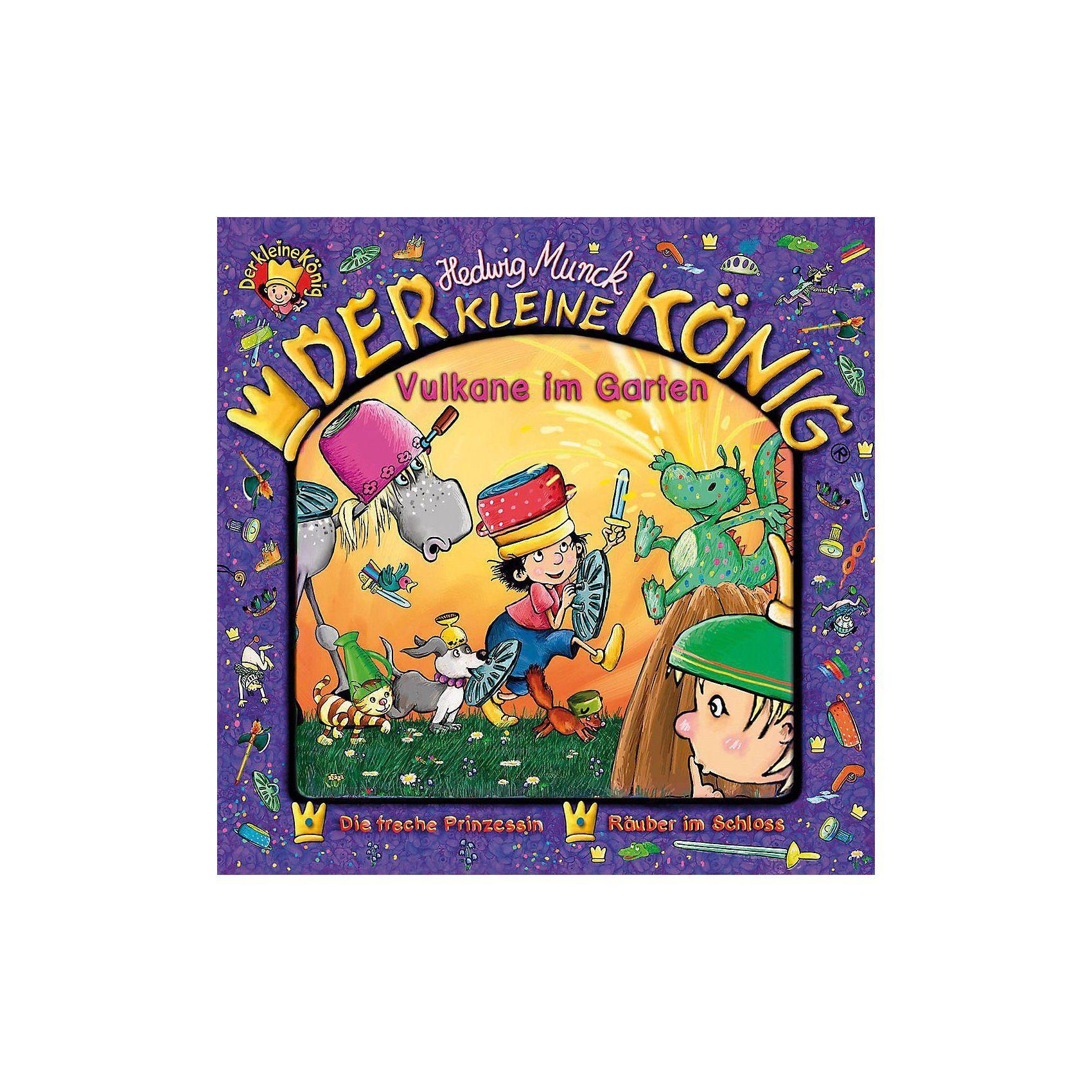 Universal CD Der Kleine König-29: Vulkane Im Garten