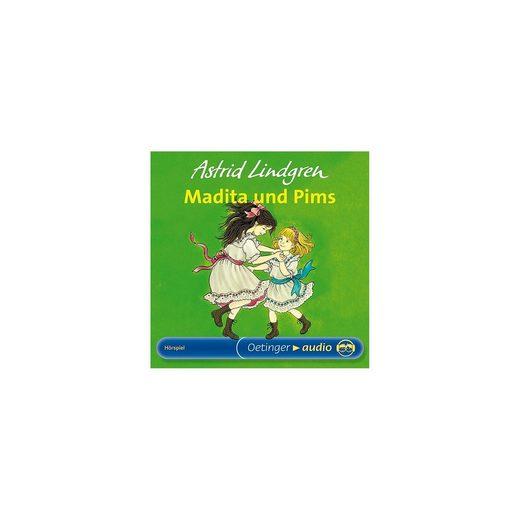 Madita und Pims, 1 Audio-CD