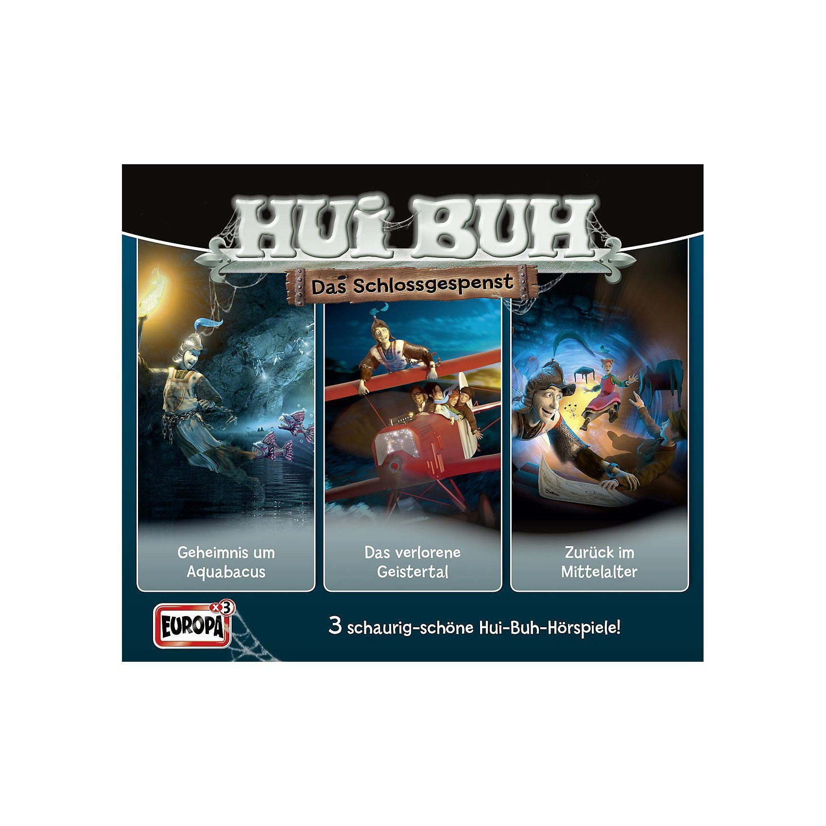 Sony CD HUI BUH neue Welt 04 - 3er Box - Spukbox 4