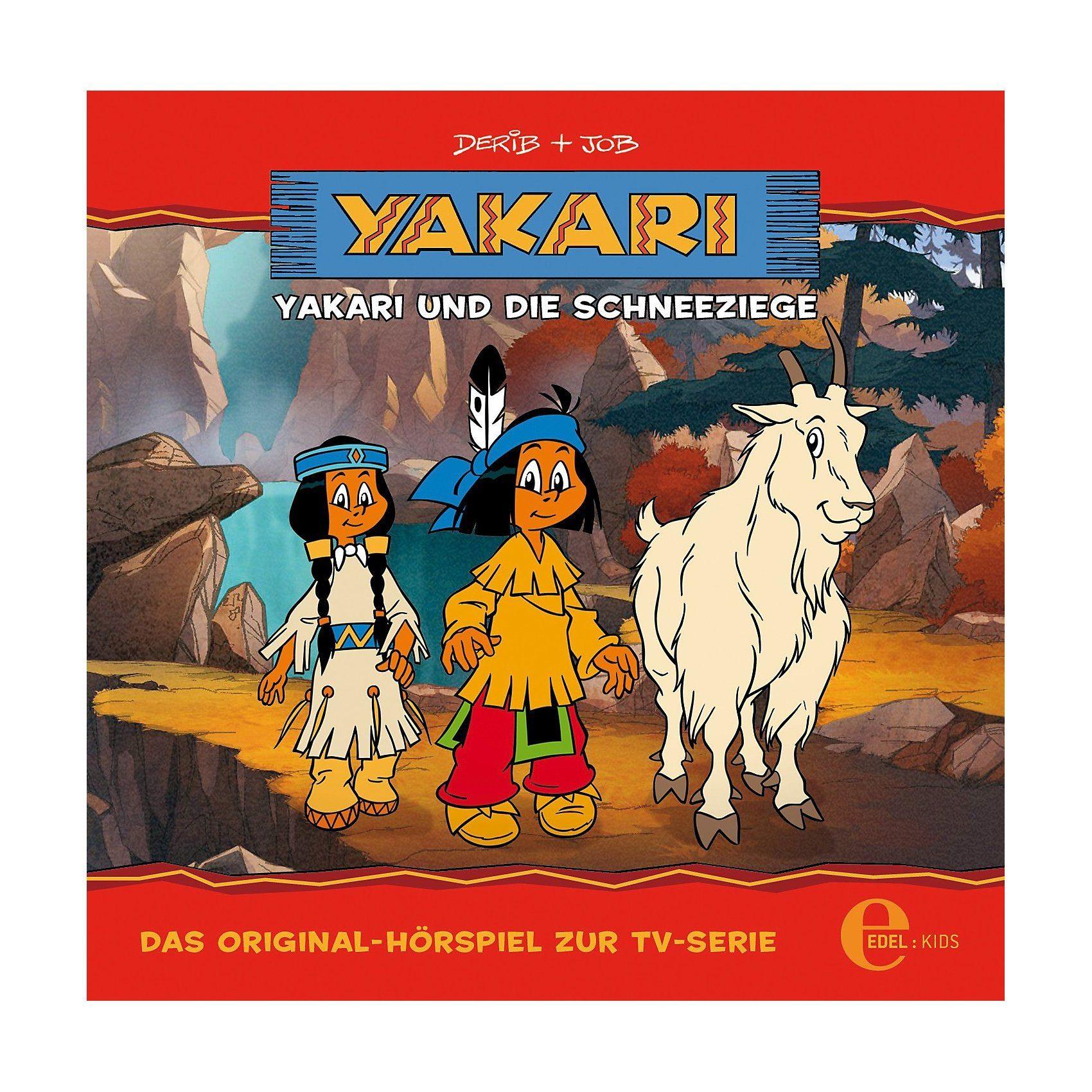 Edel CD Yakari - Yakari und die Schneeziege