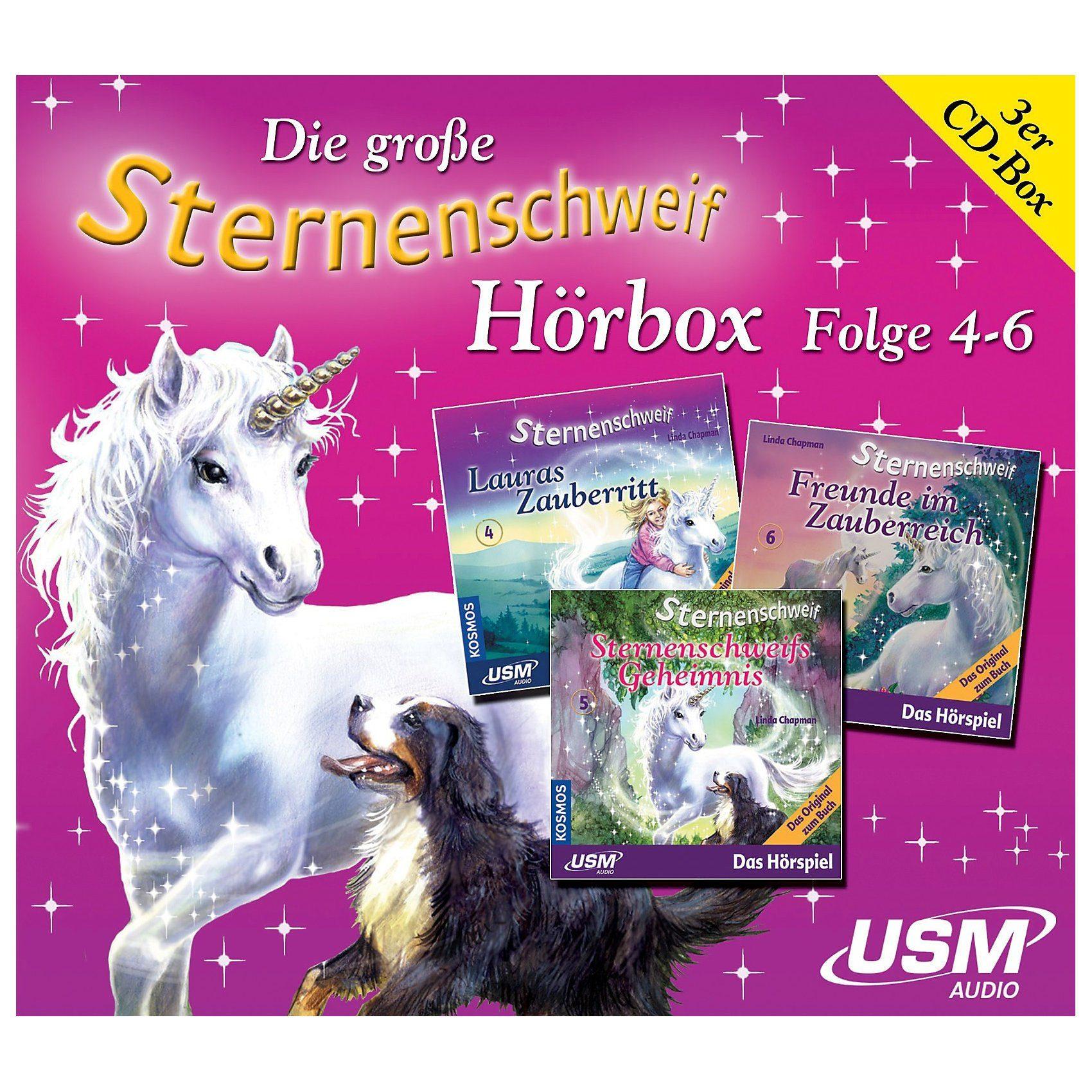 CD Die grosse Sternenschweif Hörbox Folge 4-6 (3CDs)