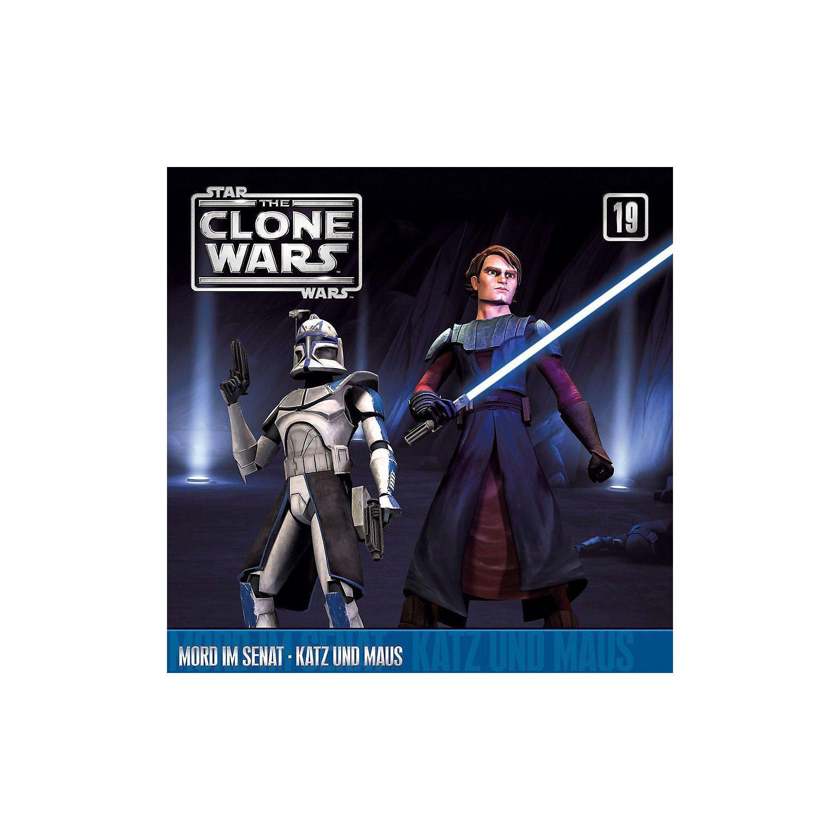Universal CD The Clone Wars 19 - Mord im Senat / Katz und Maus