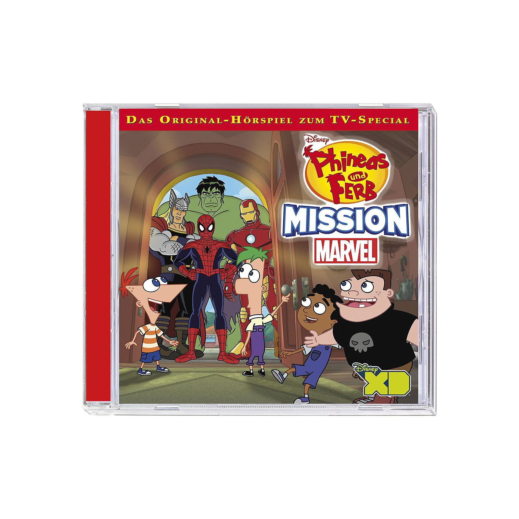 Kiddinx CD Phineas & Ferb 09 - Mission Marvel