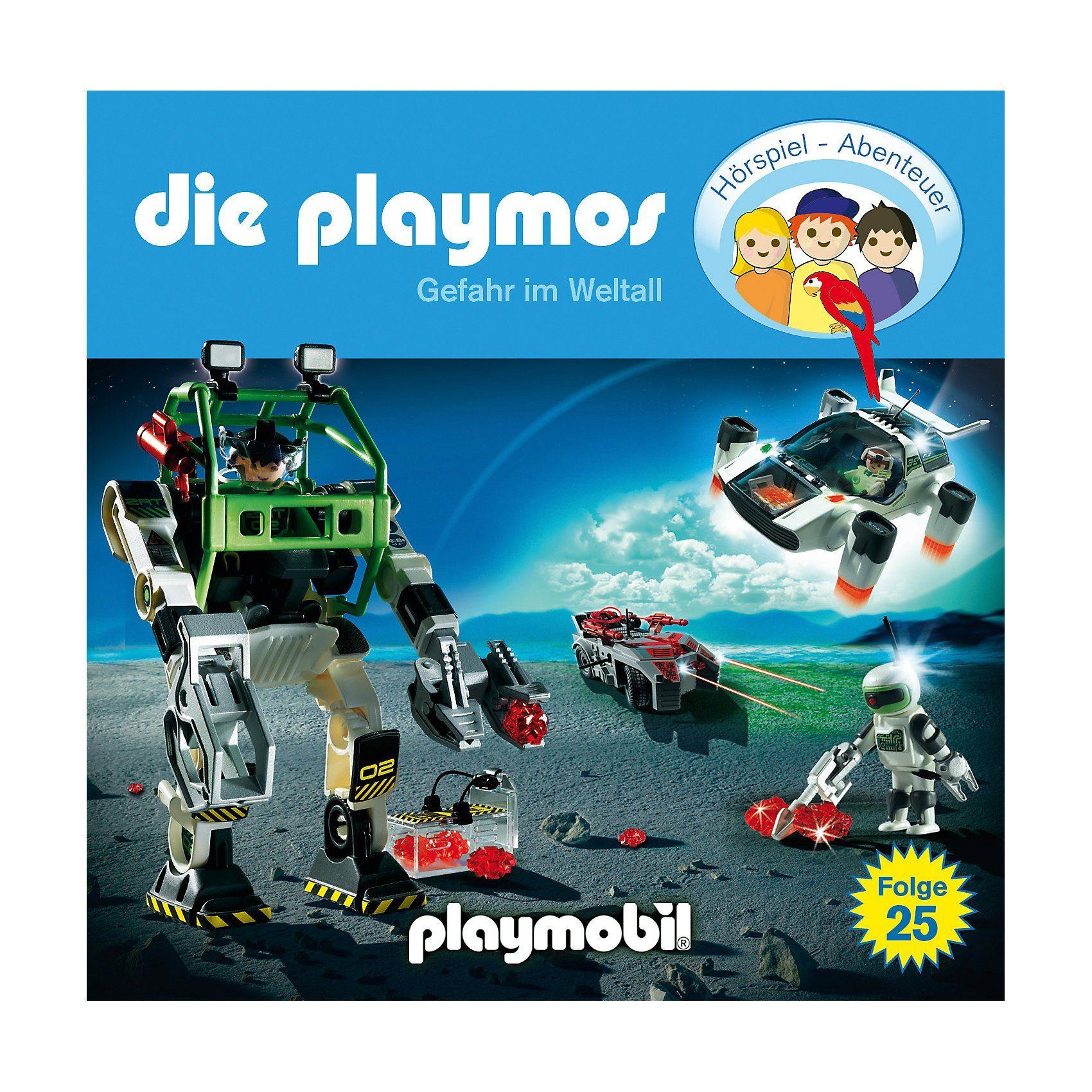 Die Playmos - Gefahr im Weltall, 1 Audio-CD