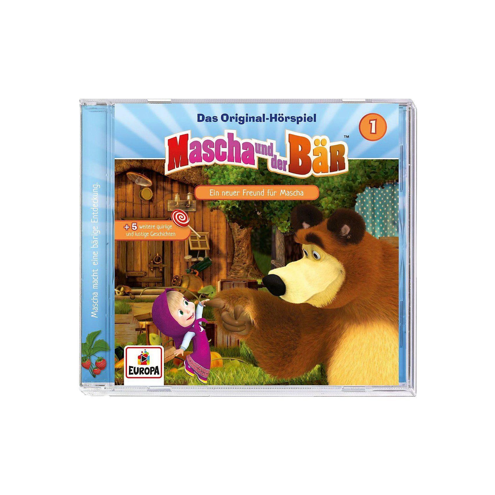 Sony CD Mascha und der Bär 01